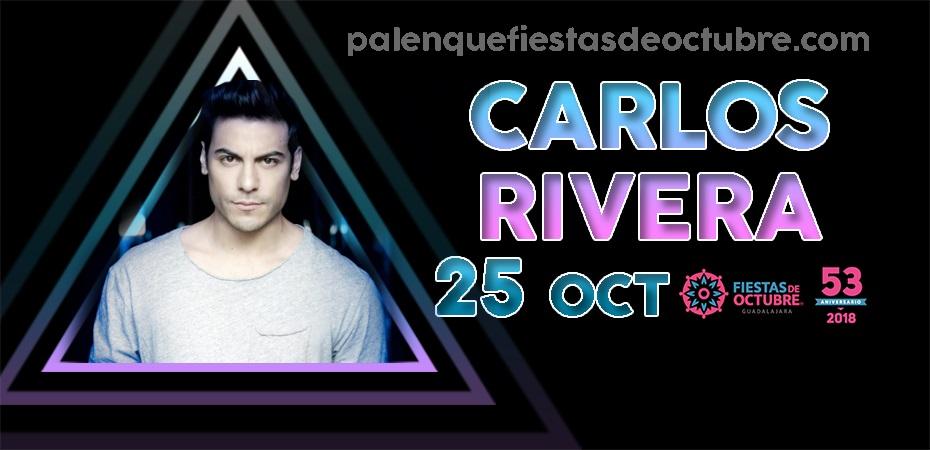 Carlos Rivera / Palenque Fiestas de octubre 2018