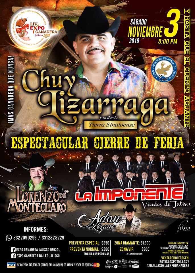 Gran Cierre / Expo Ganadera Jalisco 2018
