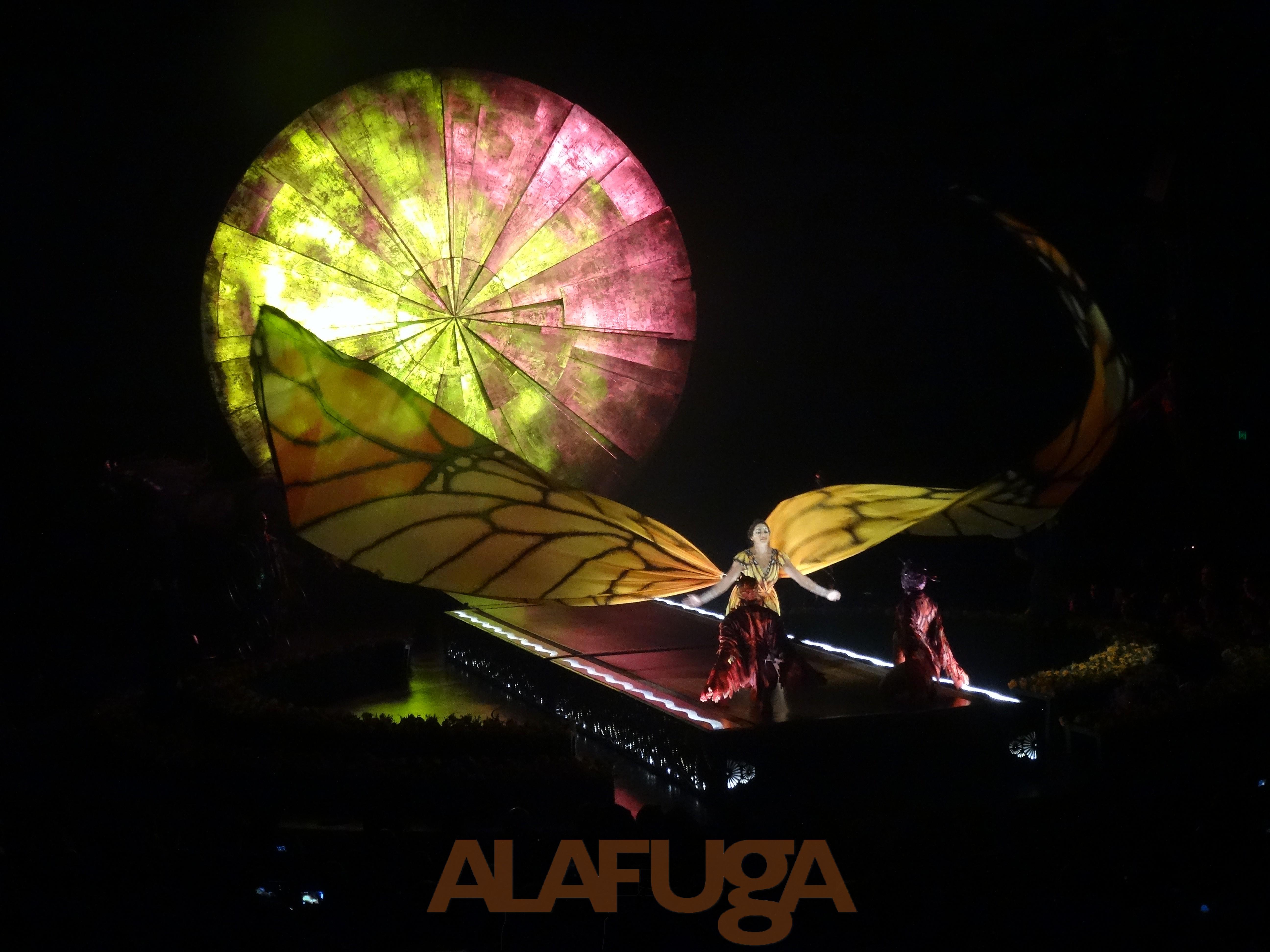 LUZIA de Cirque Du Soleil, El México surrealista