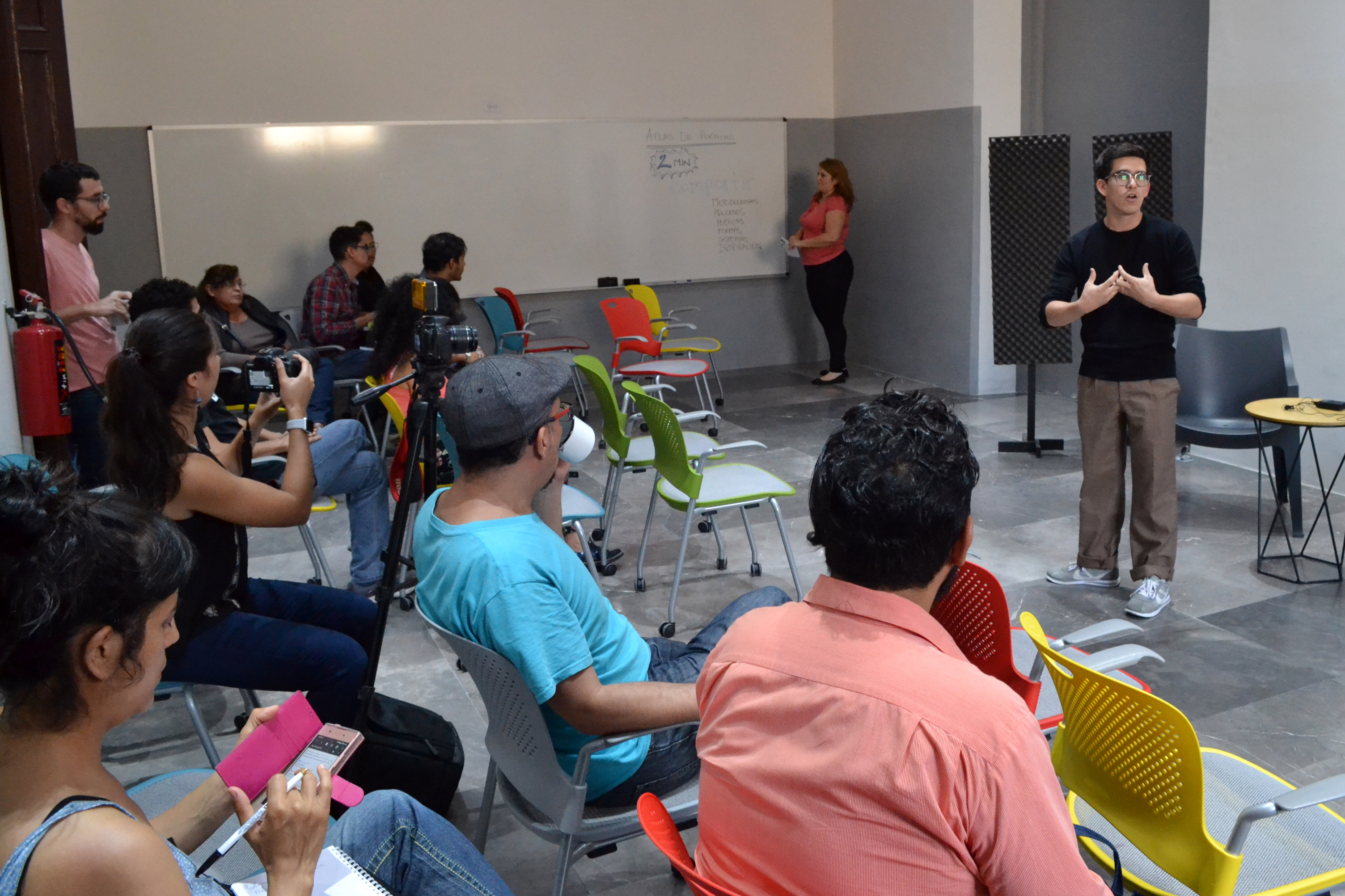 Más de 40 artistas y promotores participan en el Encuentro de Creadores de la MET 2018