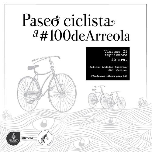 Paseo ciclista a #100deArreola / Salida andador Escorza
