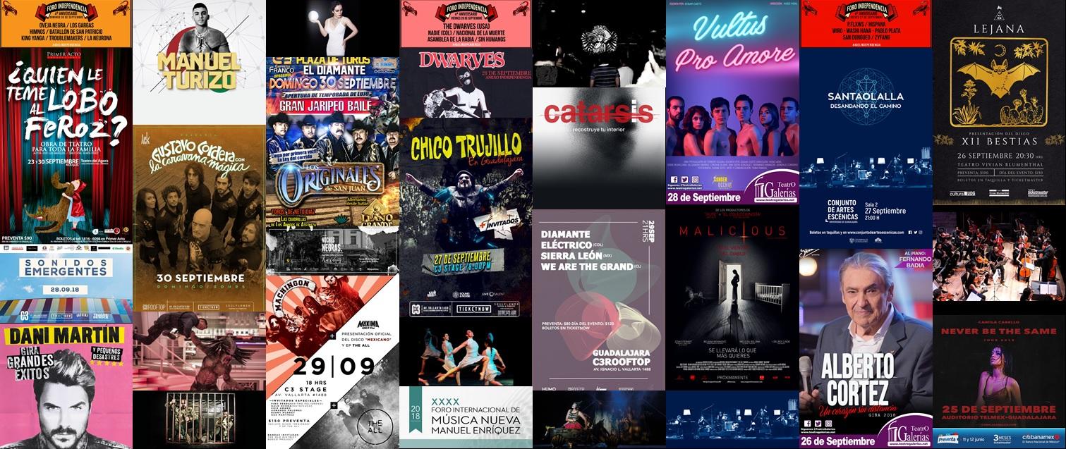 Boletín Semanal Eventos del 24 al 30 de septiembre
