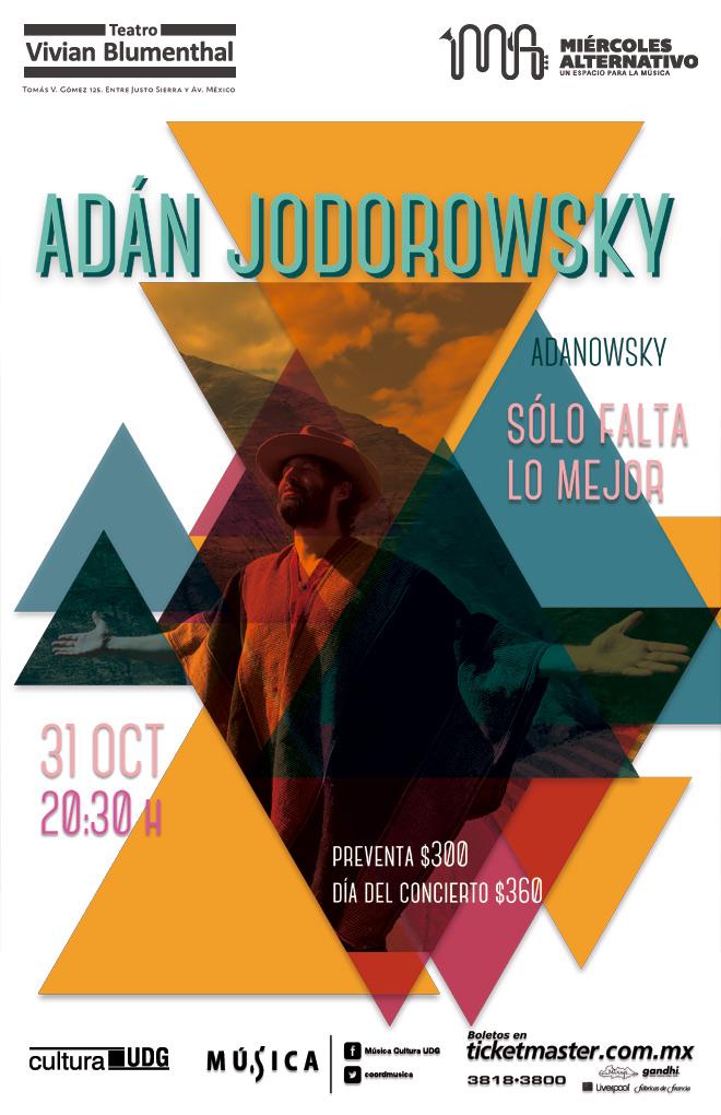 Adán Jodorowsky / Teatro Vivian Blumenthal