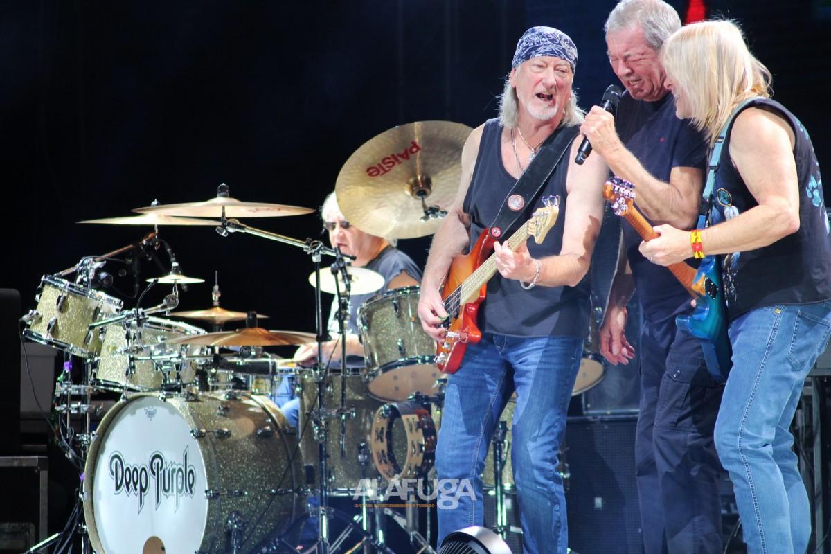 Deep Purple se despide de Guadalajara