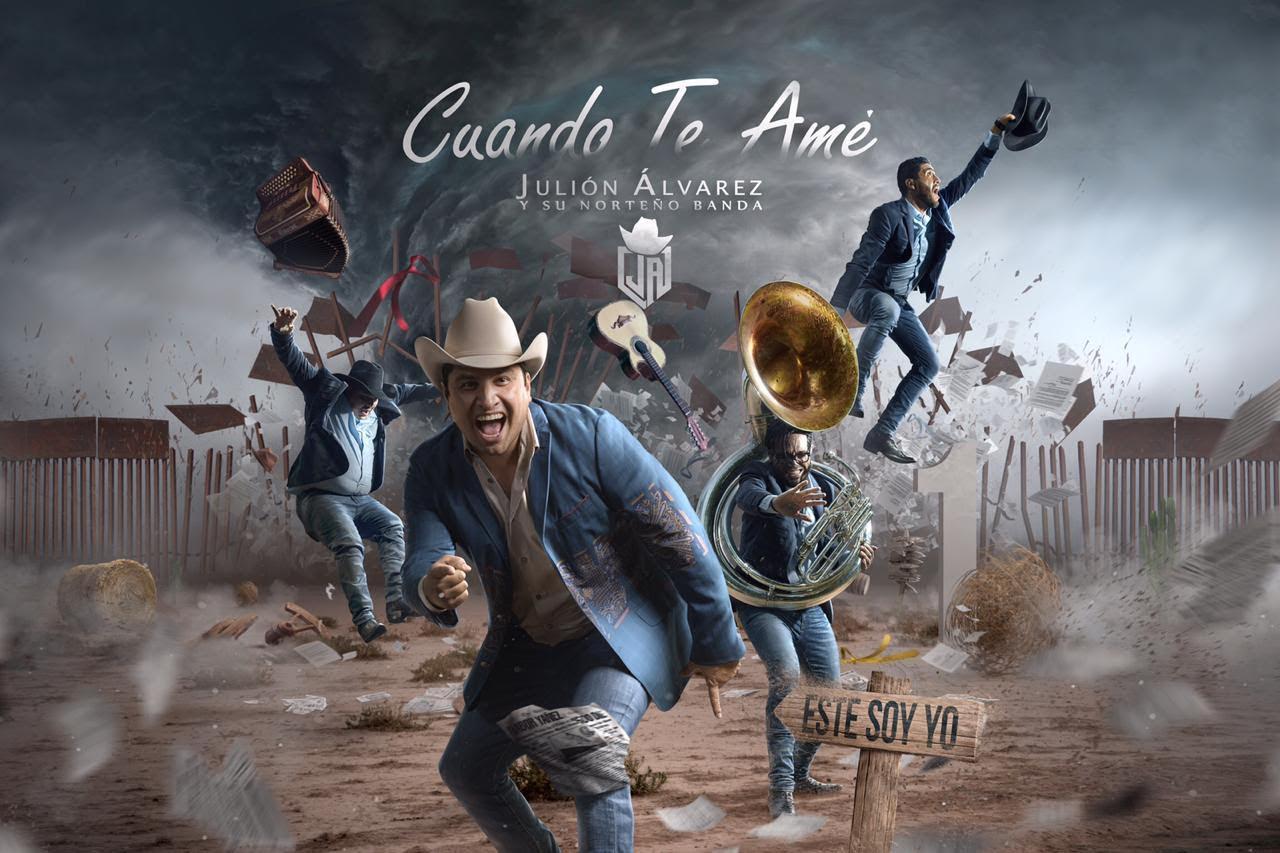 """Julión Álvarez y su norteño banda presentan su nuevo sencillo titulado """"Cuando te amé"""""""