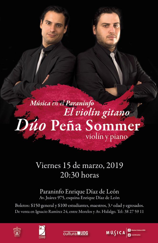 Dúo Peña Sommer, Música en el Paraninfo