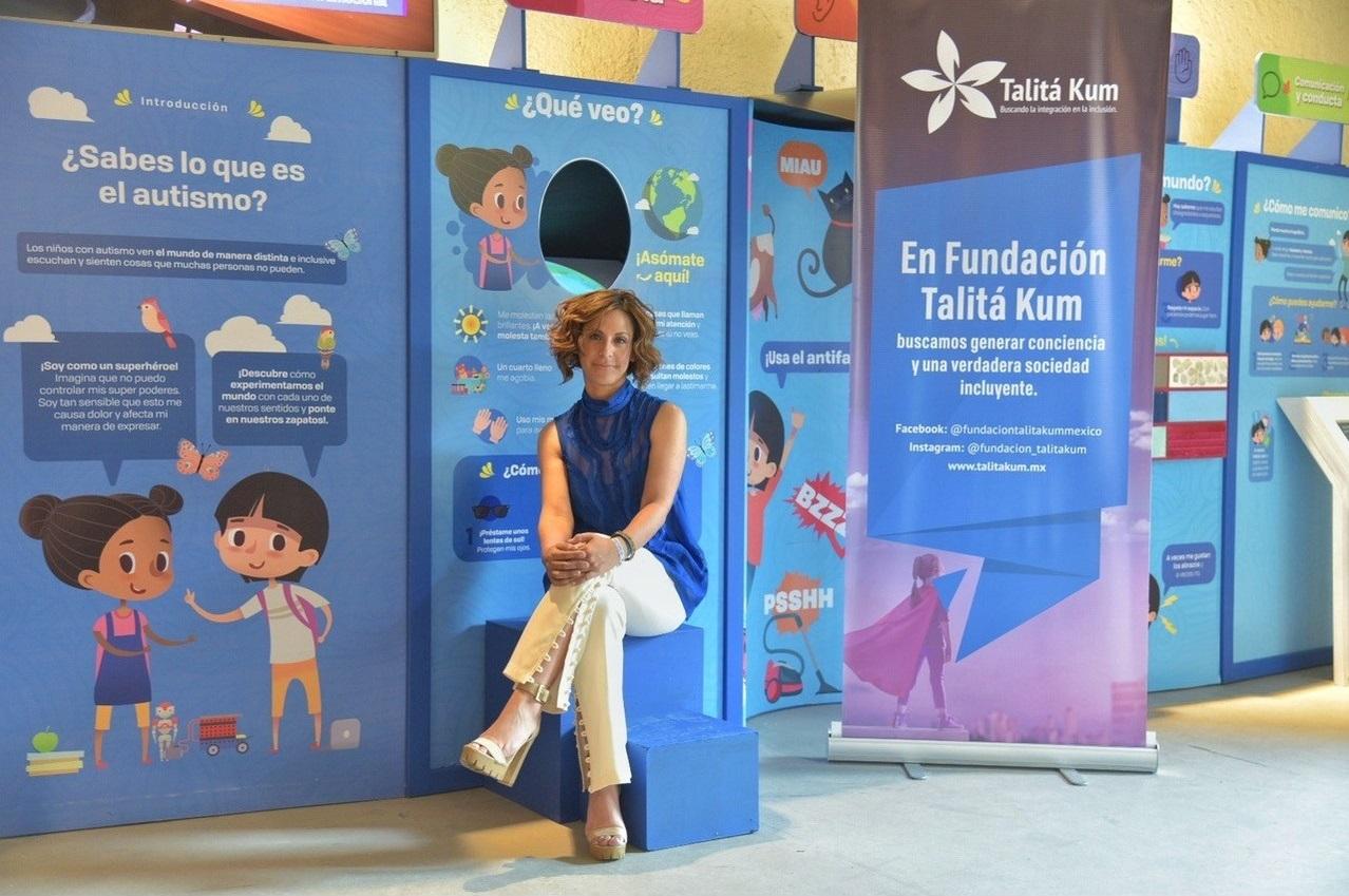 """Talitá Kum y Papalote Museo del Niño se unen para crear la experiencia """"Ponte En Sus Zapatos"""" y generar conciencia sobre el autismo."""