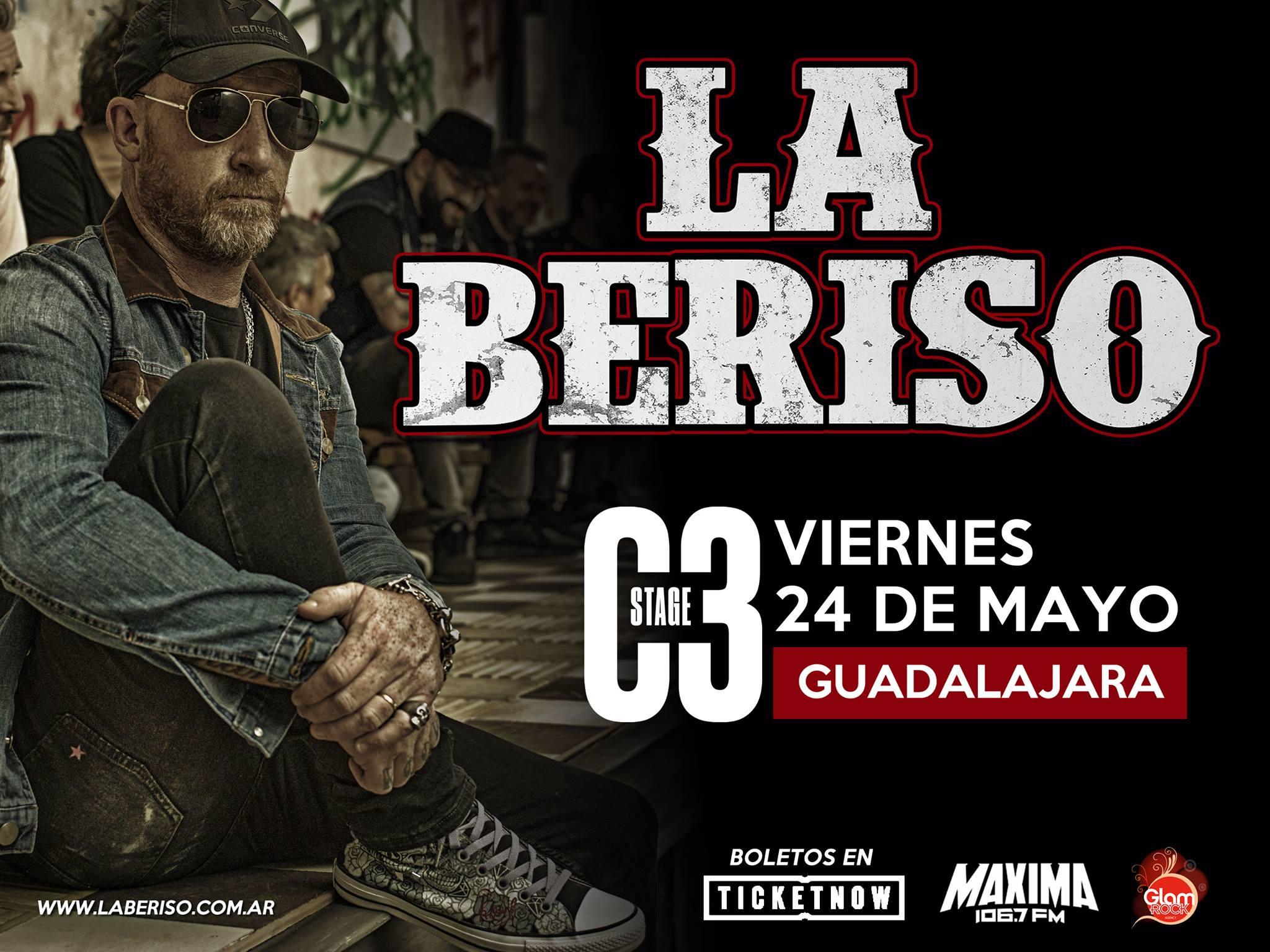 La Beriso en Guadalajara!