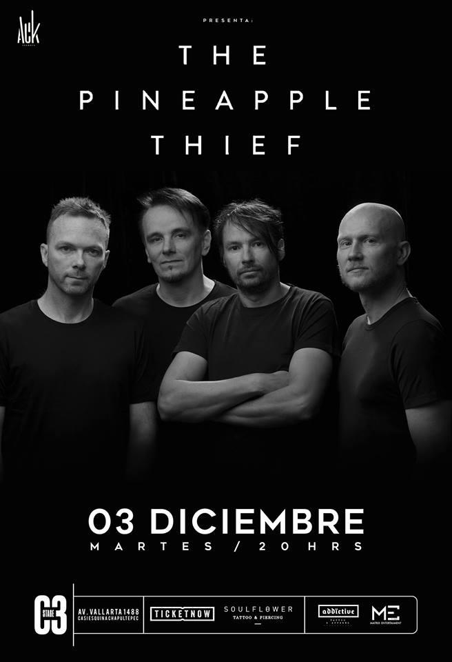 The Pineapple Thief feat. Gavin Harrison en GDL
