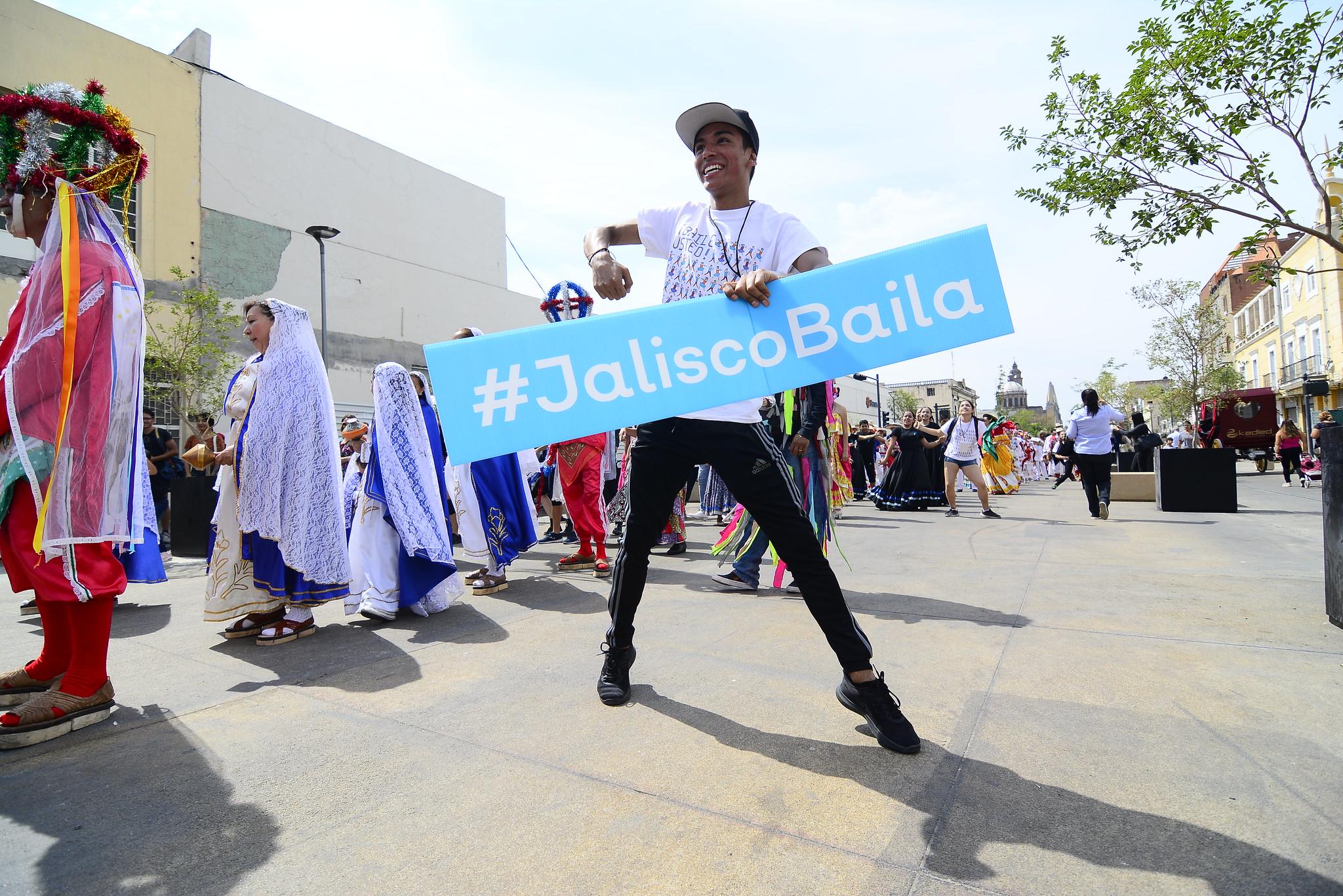 Festeja Secretaría de Cultura que Jalisco baile y que su diversidad se manifieste durante extensa  jornada en más de 70 municipios