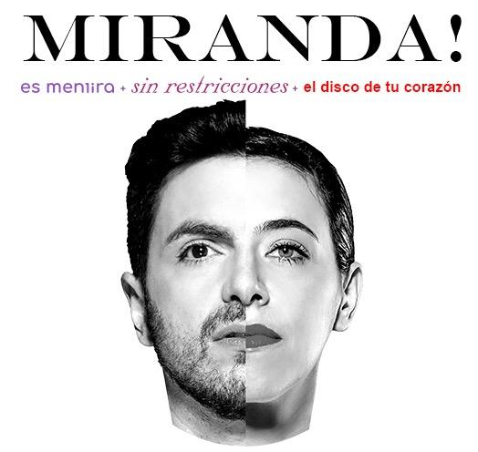 #CORTESÍAS #DateAlaFuga / Miranda en concierto