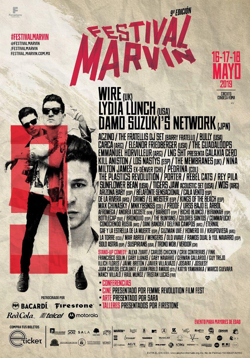 ¡Rey Pila y DRIMS serán parte del #FestivalMarvin!