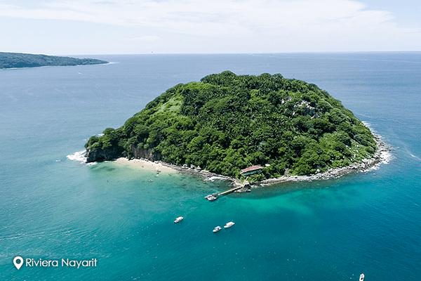 Isla del Coral, un acuario natural submarino en la Riviera Nayarit