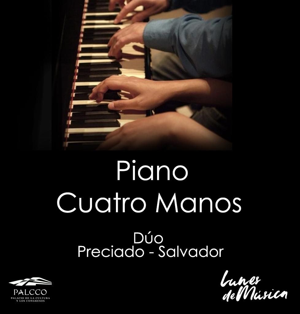 Piano a cuatro manos.