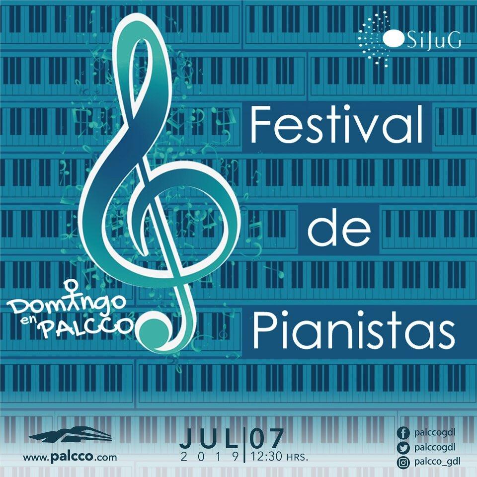 Domingo en PALCCO  Concierto de Clausura del Diplomado de Piano de la Escuela de Música de PALCCO