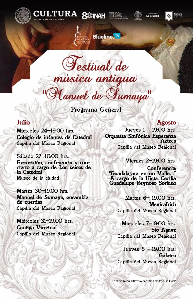 Festival de Música Antigua Manuel de Sumaya