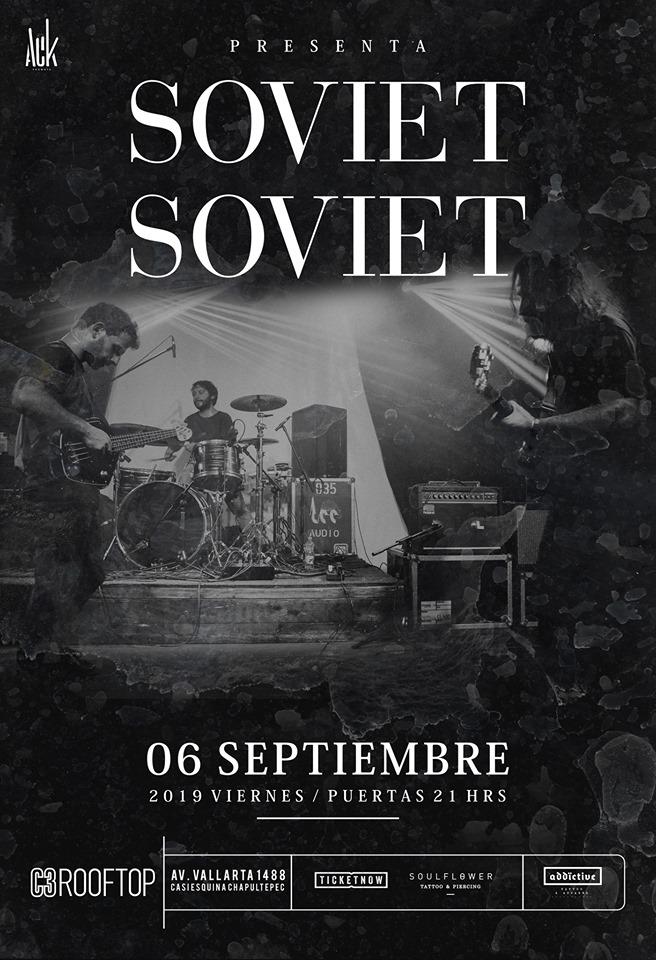 Soviet Soviet en Guadalajara 2019