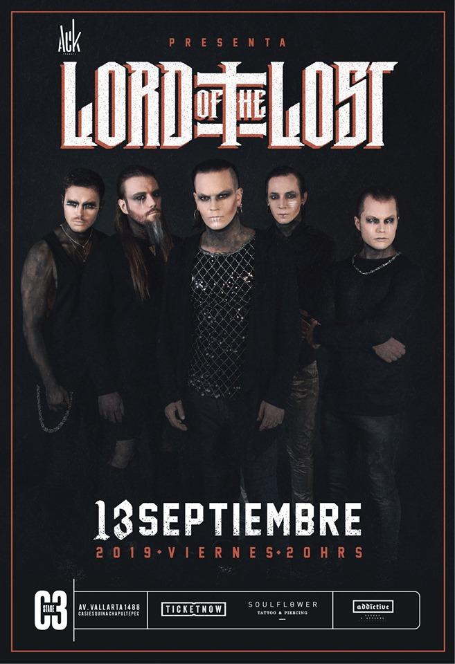 Lord of the Lost en Guadalajara