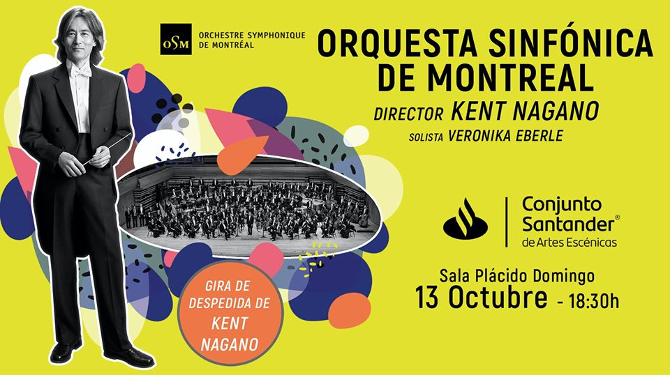 #CORTESÍAS #DateAlaFuga / Orquesta Sinfónica de Montreal