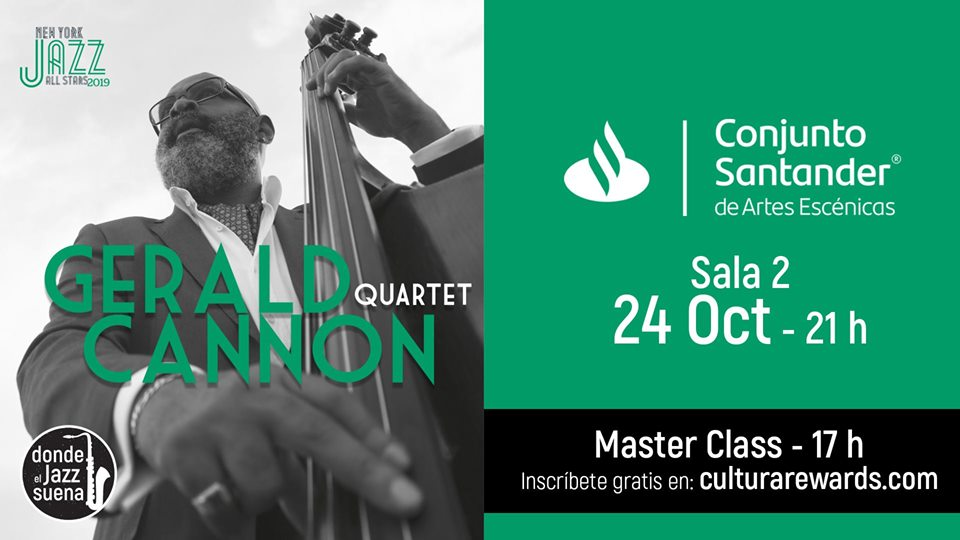 #CORTESÍAS #DateAlaFuga / Gerald Cannon Quartet