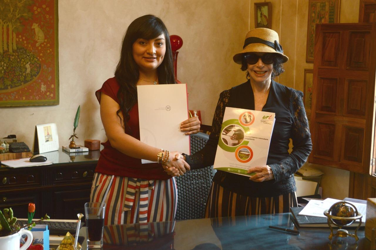 Centro de Diseño de Modas y la Universidad Tecnológica de Tlaxcala hacen convenio para impulsar el talento mexicano