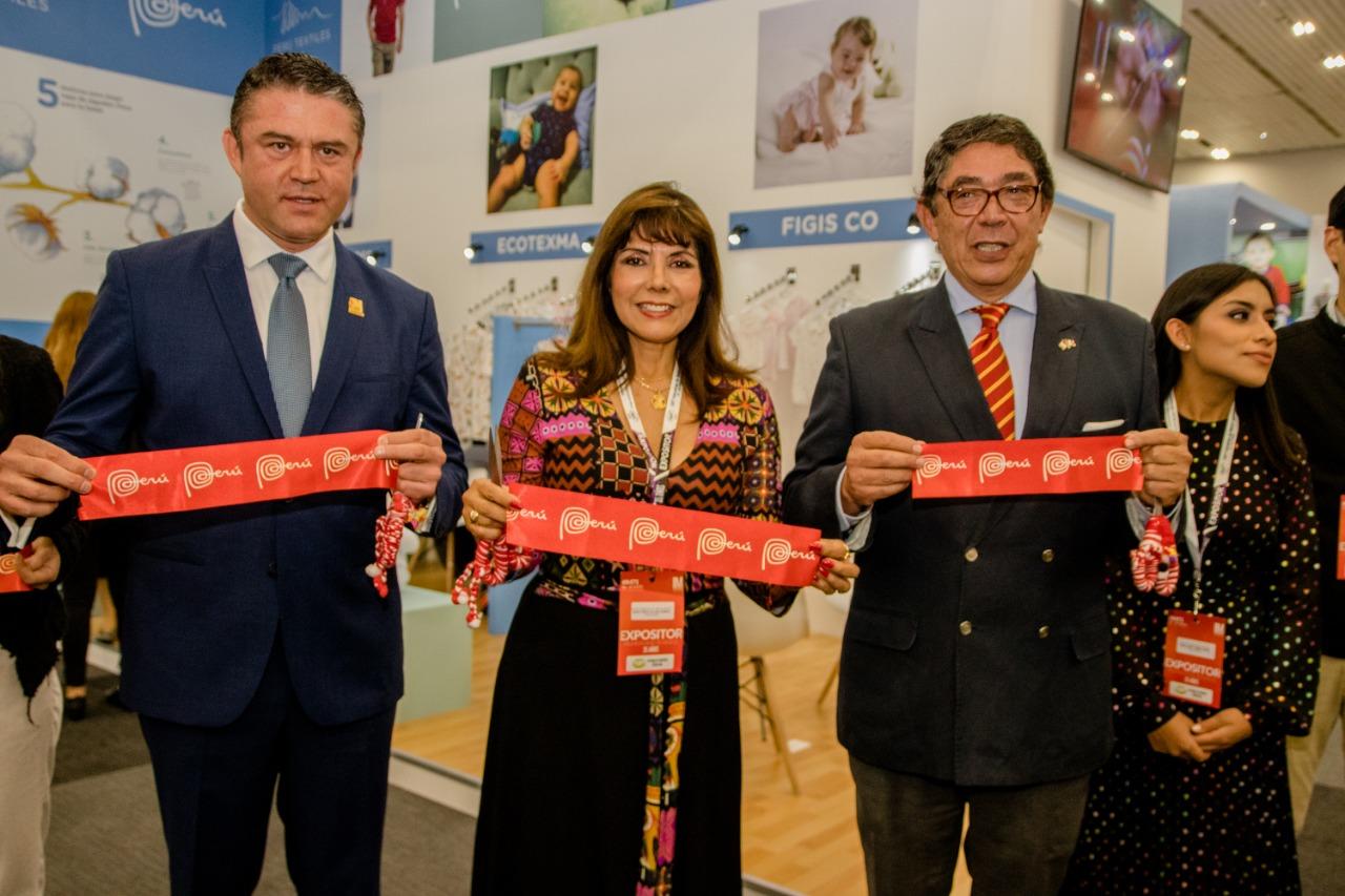 Inauguracón Pabellon Peru Intermoda 2019