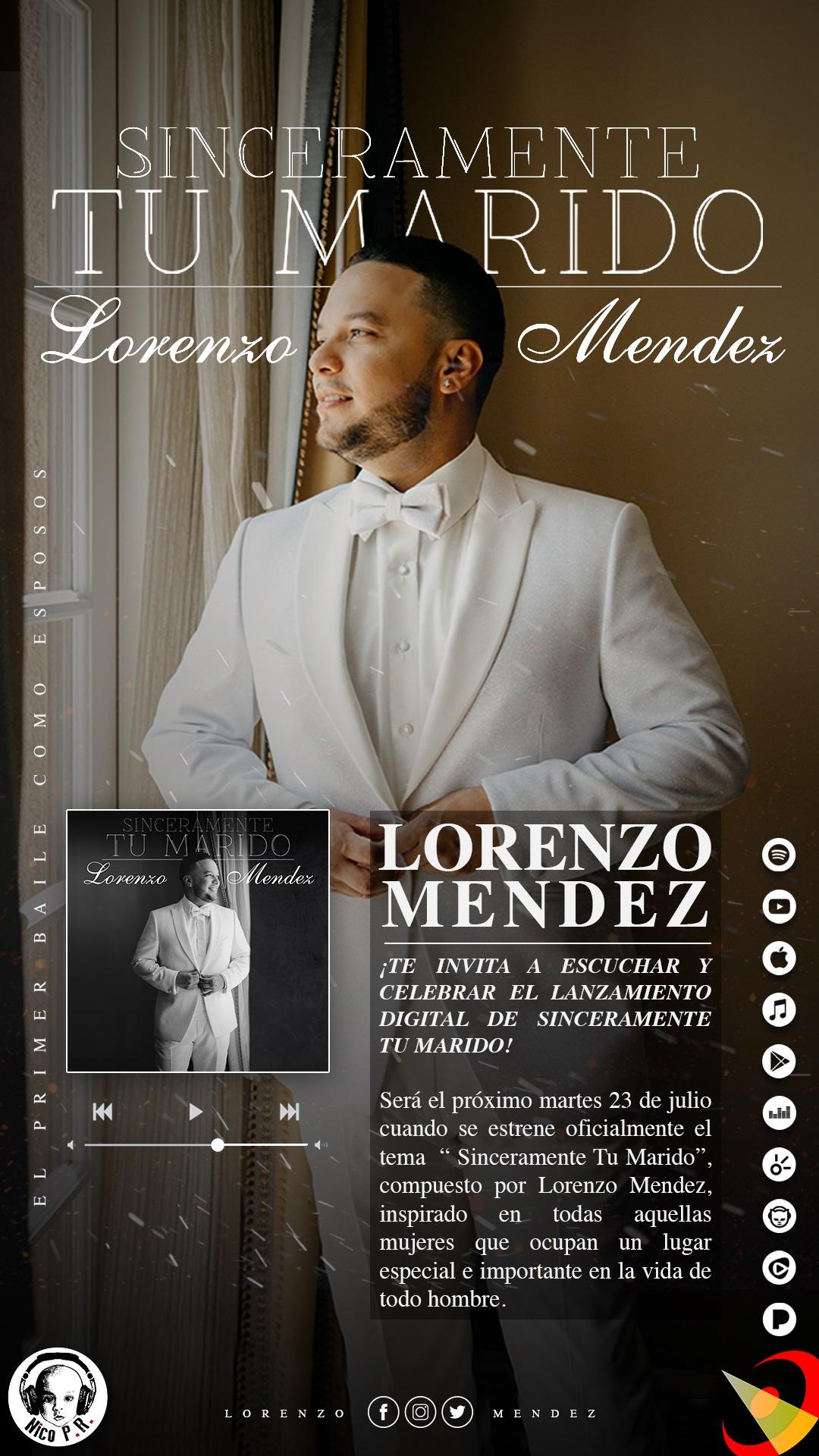 Lorenzo Méndez te invita…