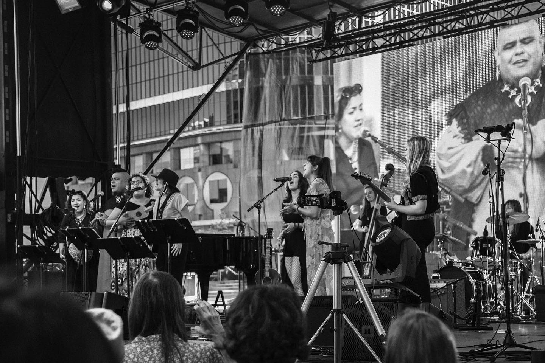 La cantautora puertorriqueña Andrea Cruz participó en Los Ángeles California con Gaby Moreno en Festival Audacity of Sounds