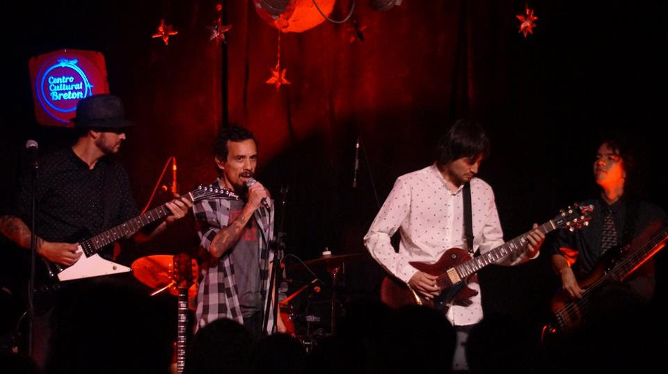 Los Villanos Blues Band Alafuga