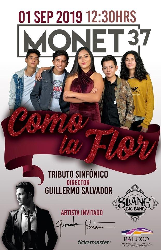 #CORTESÍAS #DateAlaFuga / Como La Flor Tributo Sinfónico