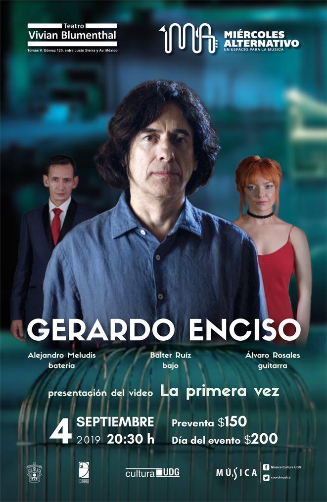 Gerardo Enciso en Miércoles Alternativo