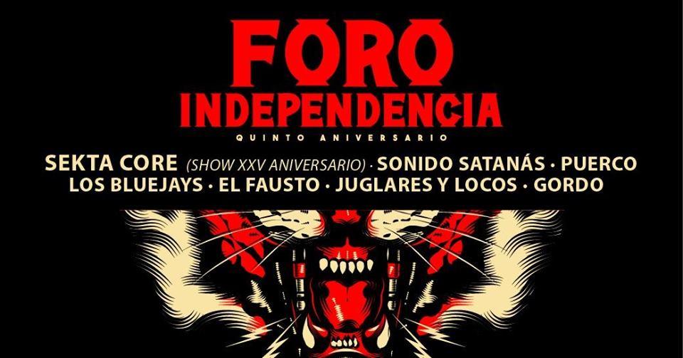 V Aniversario Foro Independencia