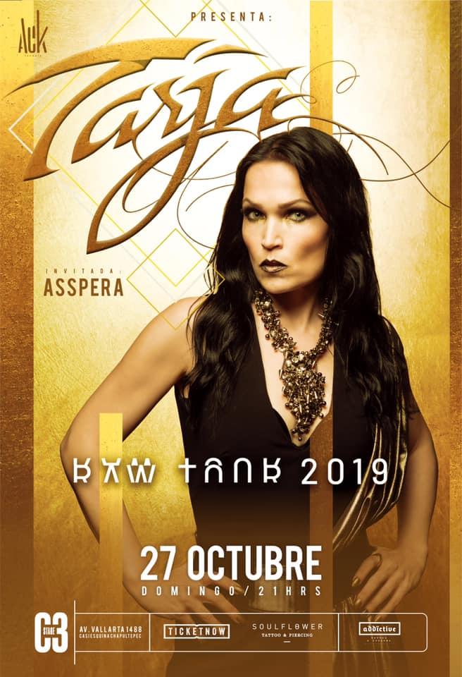 Tarja en Guadalajara (2019)