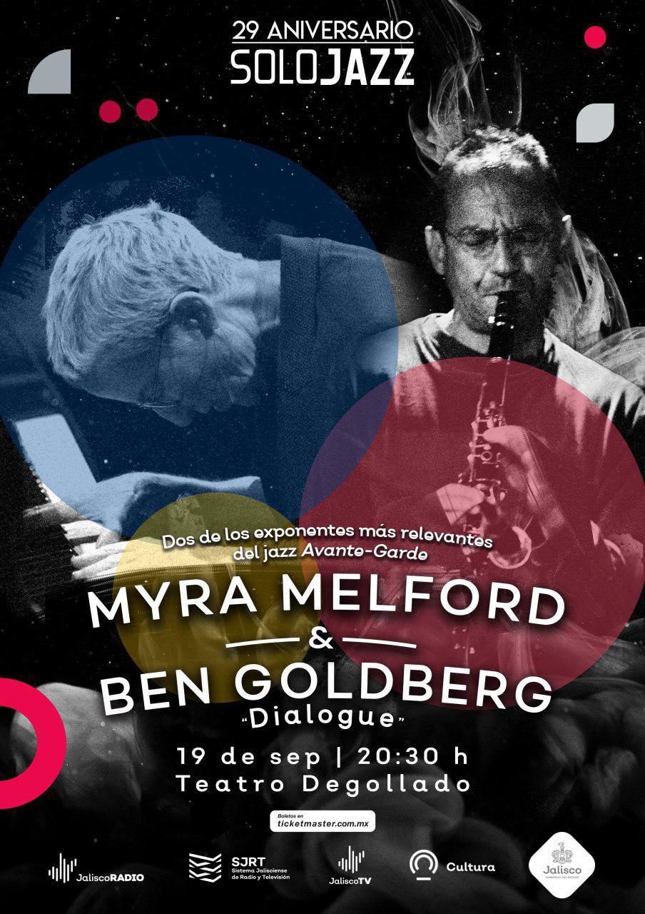 Solo Jazz celebra 29 años al aire con Myra Melford y Ben Goldberg