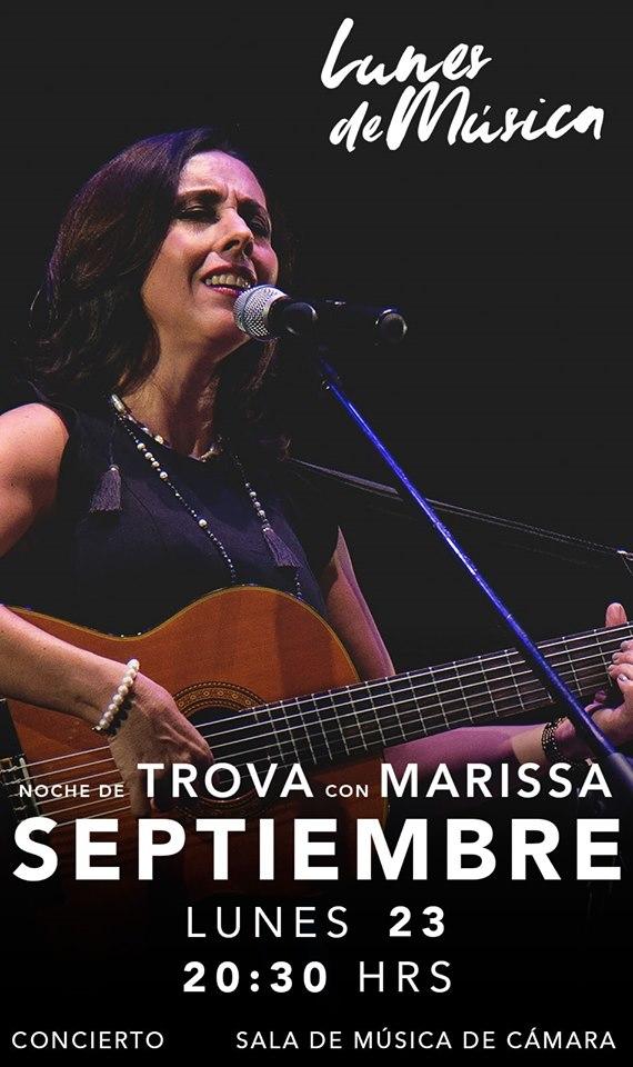 #CORTESÍAS #DateAlaFuga / Noche de Trova con Marissa