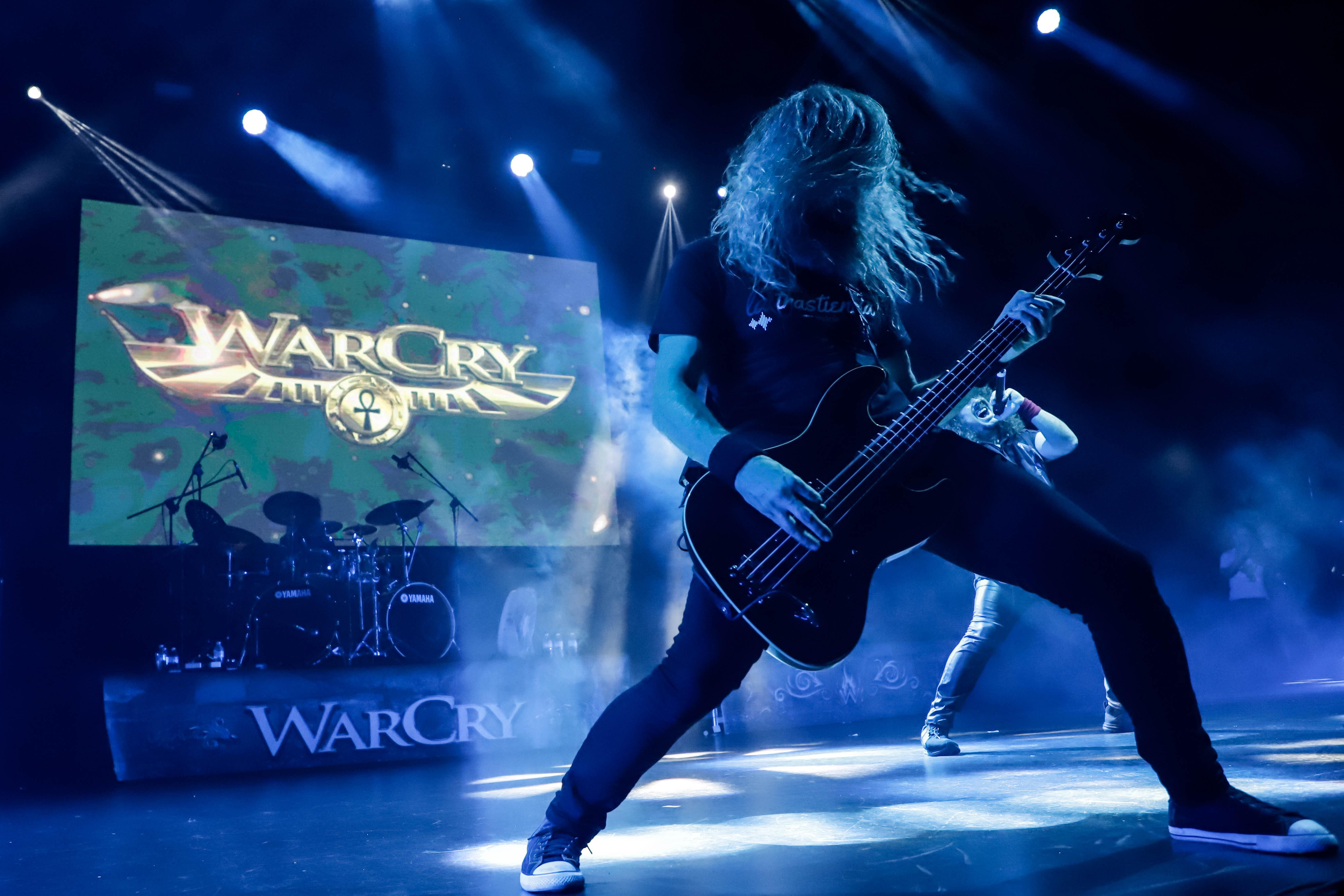 Warcry, un aclamado concierto