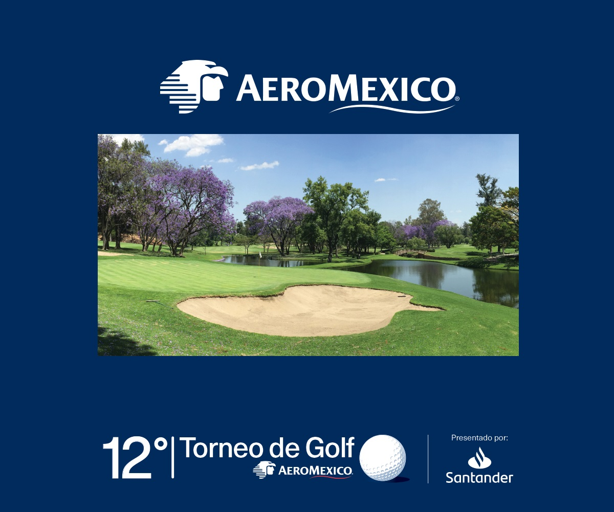 12° torneo de golf Aeroméxico