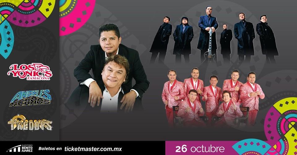 Yonics, Ángeles Negros y Freddys en Fiestas de Octubre