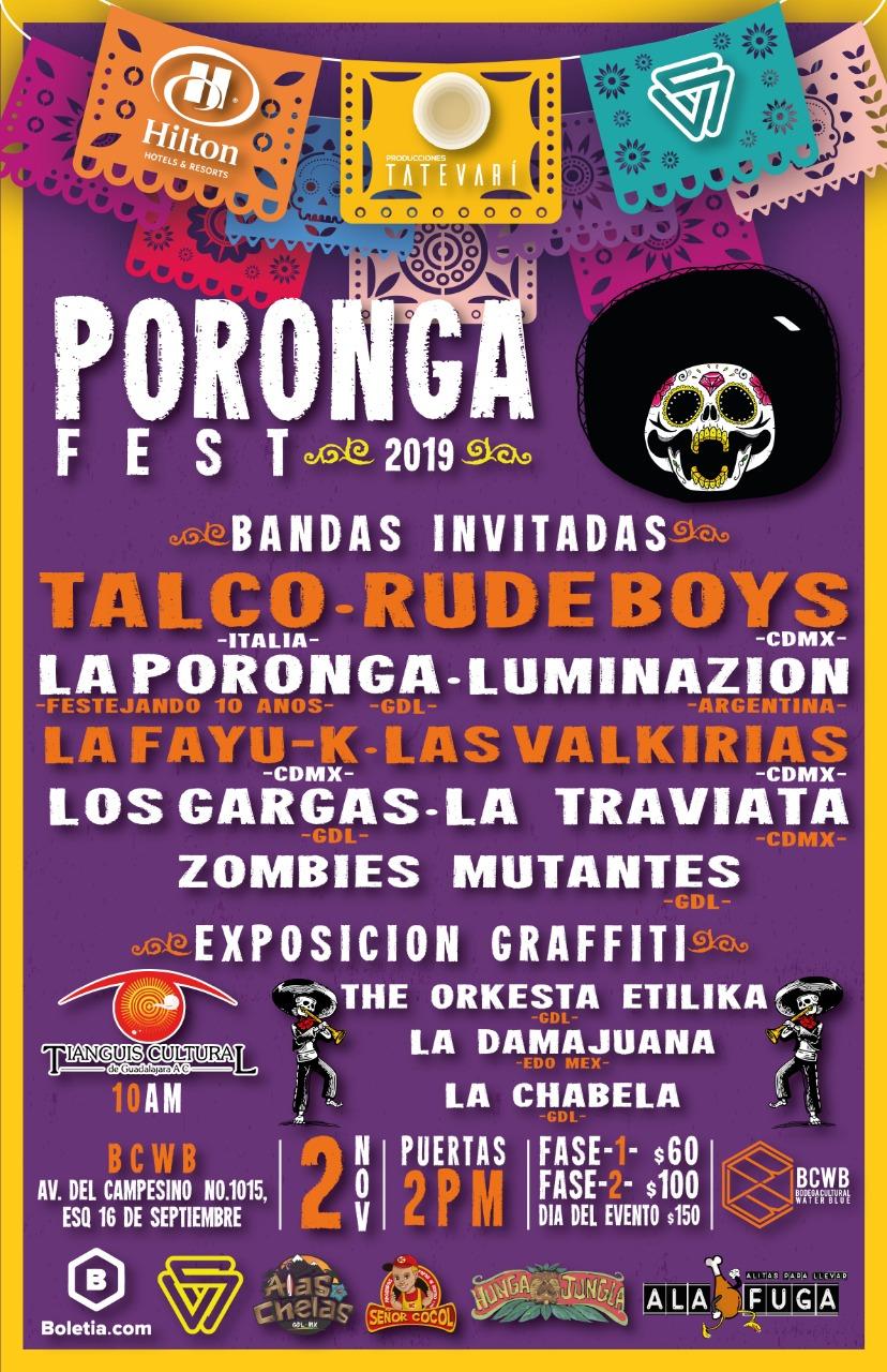 PORONGA FEST celebra su tercera edición con TALCO y LuminaZion