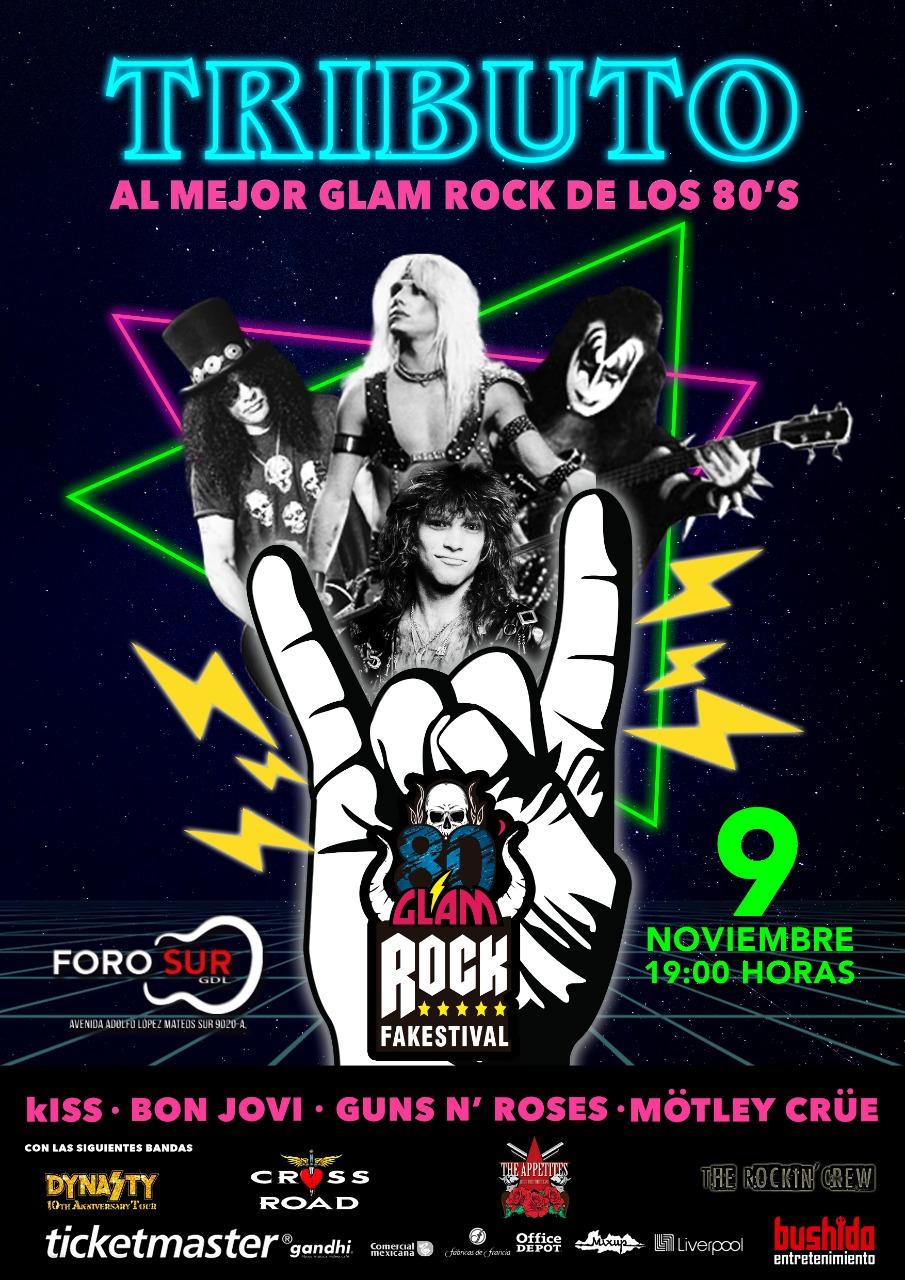 80's Glam Rock Fakestival