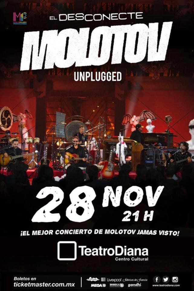 Molotov unplugged en Guadalajara