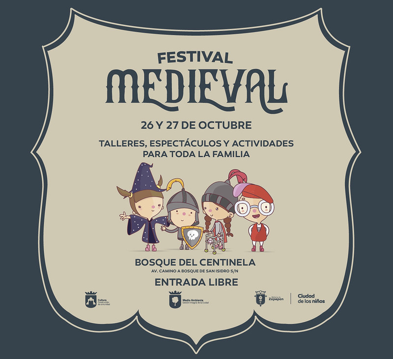 Invita Zapopan al Festival Medieval para niños en el Bosque del Centinela