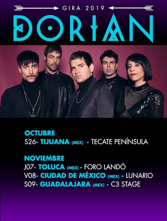 ¡DORIAN regresan a MÉXICO! Últimos conciertos de la gira en la República