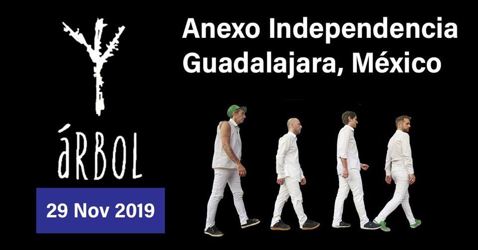Árbol en Guadalajara!