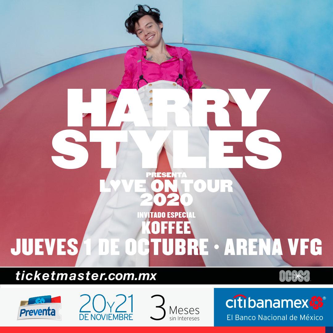 Harry Styles anuncia su gira mundial 2020
