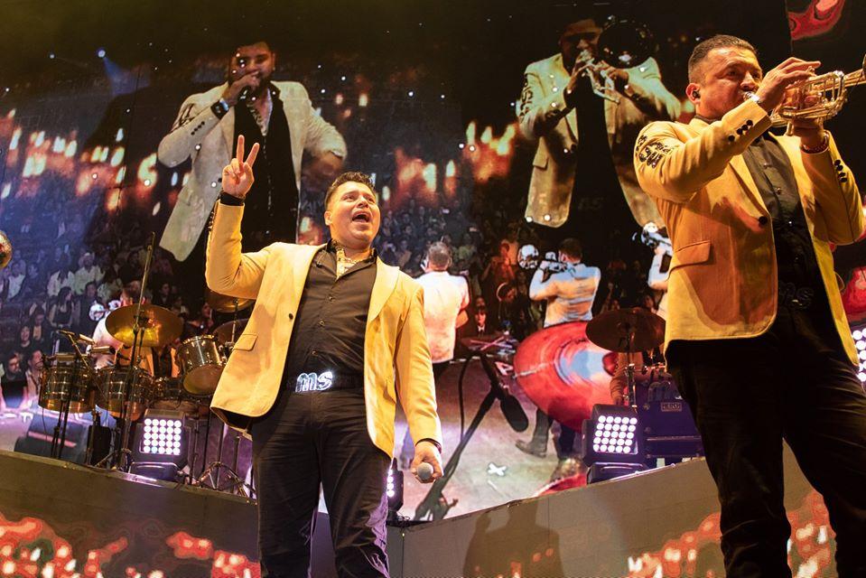 Banda la MS, conquistó el Auditorio B. Juárez