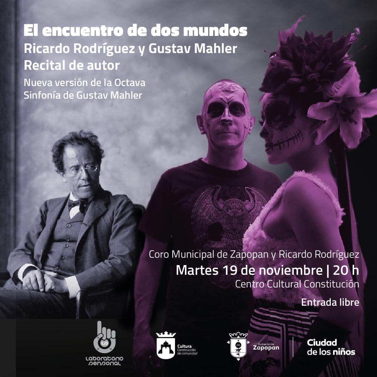 El Coro Municipal de Zapopan y Ricardo Rodríguez en concierto