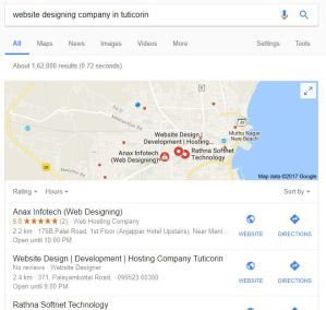 local business get higher rankings on google