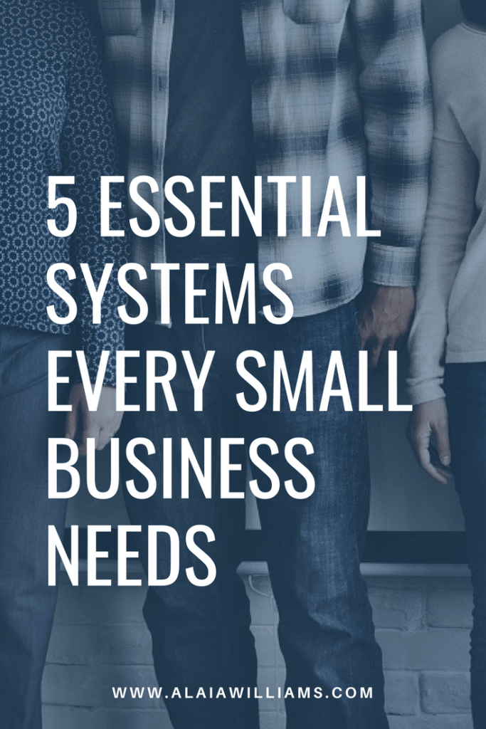 5 systems every business needs