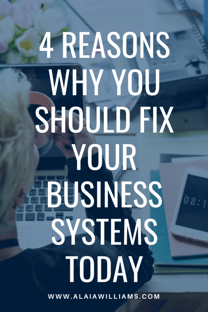 fix your business systems today